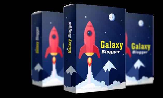 DEMO Template Galaxy Blogger