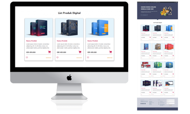 Preview TEmplate ElemenStore DOwnload